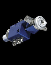 Spray gun / for paint / automatic