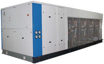Semi-hermetic condensing unit / air-cooled / for outdoor use