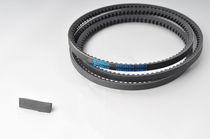 Trapezoidal transmission belt / rubber / narrow