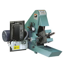 Flat grinding machine / for metal sheets / manually-controlled