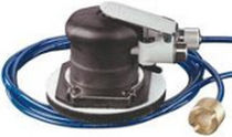 Orbital sander / pneumatic / low-profile / wet