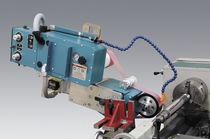 Wheel rim super-finishing machine