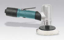 Orbital polisher / air-driven / for all materials
