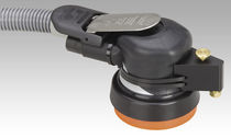 Random orbital sander / pneumatic / wet