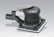 Orbital sander / pneumatic / lightweight / with dust extraction system