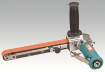 Belt sander / pneumatic / high-speed