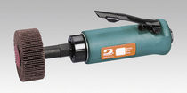 Handheld sander-polisher / pneumatic / brush