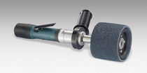 Pneumatic sander-polisher / lightweight / brush