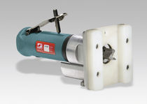 Manual router / 1-spindle / wood / pneumatic