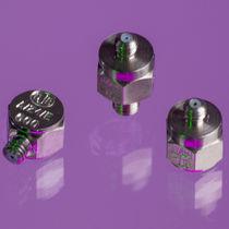 1-axis accelerometer / piezoelectric / miniature