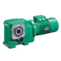 Single-phase electric gearmotor / orthogonal / helical / bevel
