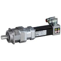 AC servo-gearmotor / coaxial / planetary / compact