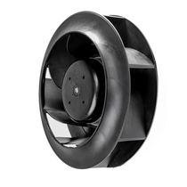 Backward curved fan / for electronics / centrifugal / cooling