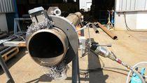 Steel cutting machine / rotary blade / pipe