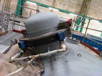 Steel cutting machine / rotary blade