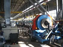 Rotary blade cutting machine / automatic