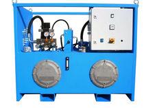 Stationary hydraulic power unit