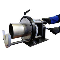 Semi-automatic tube end chamfering machine