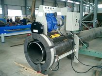 Metal cutting machine / flame / manually-controlled / beveling