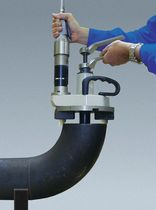 Pneumatic chamfering machine / portable / fixed-angle