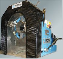 Manually-controlled cutting machine / beveling / for pipe ends