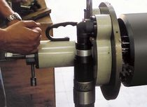 Portable chamfering machine / for tubes