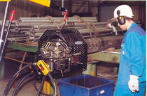 Pipe end chamfering machine / high-speed