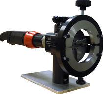 Welding tube squaring machine