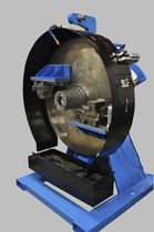 Thick piece tube end chamfering machine