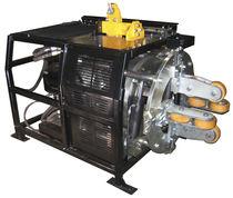 High-speed tube squaring machine