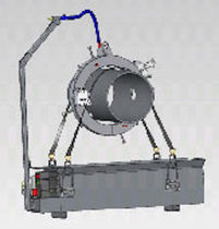 Oil lubrication system / centralized / for beveling machines