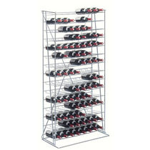 Storage warehouse shelving / light-duty / bottle / high-rise