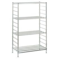 Double-sided shelving / light-duty / multi-storage