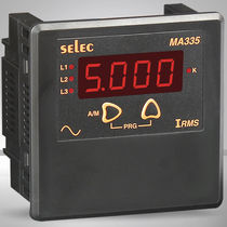 Digital ammeter / AC / panel-mount