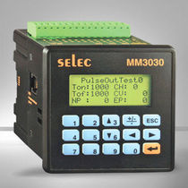 Panel-mount PLC / DIN rail / with integrated I/O / RS485