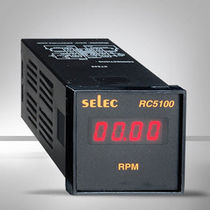 Rate indicator / digital / panel-mount / with counting function