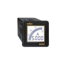 Digital ammeter / AC / single-phase / panel-mount