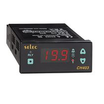 Temperature controller with LED display / IP65 / cooling / panel-mount