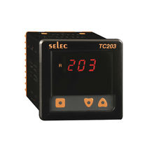 Temperature controller with LED display / PID / IP65 / panel-mount