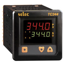 Double LED display temperature controller / PID / IP65 / panel-mount