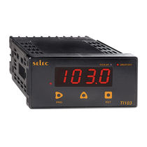 Binary totalizer counter / digital / electronic / panel-mount