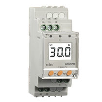 Over-current protection relay / under-current / 1 NO / digital