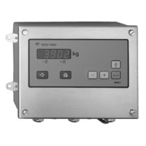 Digital weight indicator / panel-mount / stainless steel