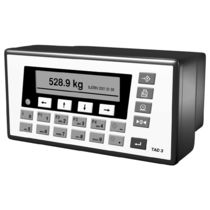 Dust-proof weight indicator-controller / panel-mount