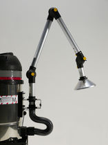 Suction extraction arm / fixed / flexible / for the pharmaceutical industry