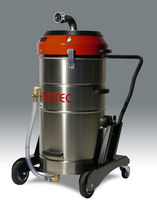 Oil and chip vacuum cleaner / electric / industrial / mobile