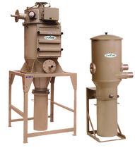 Cartridge dust collector / reverse air cleaning / high-vacuum