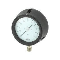 Analog pressure gauge / diaphragm / for gas / process