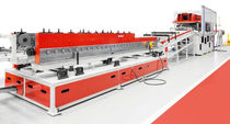 Cable channel roll forming line / punching / cutting