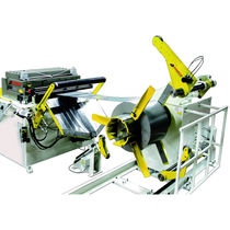 Motorized decoiler / for press feed / horizontal